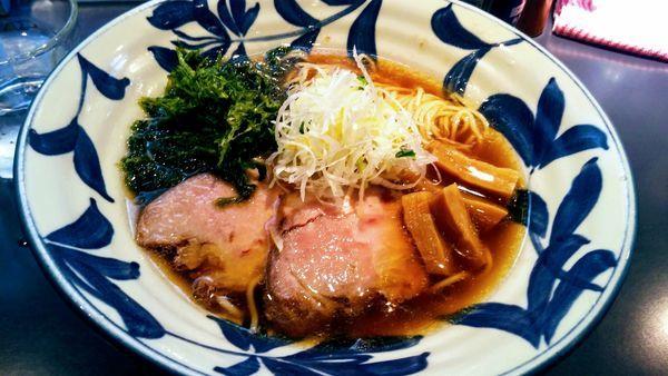 「醤油ラーメン」@らーめん 神田 磯野の写真