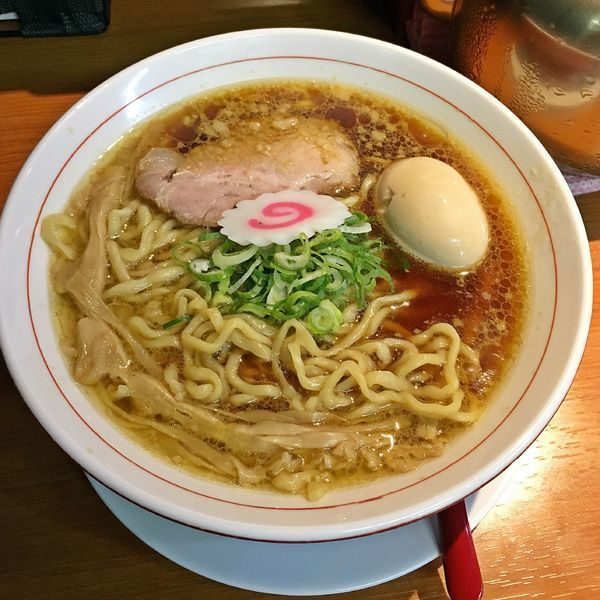 「味玉中華そば ¥780」@横浜中華そば 維新商店の写真