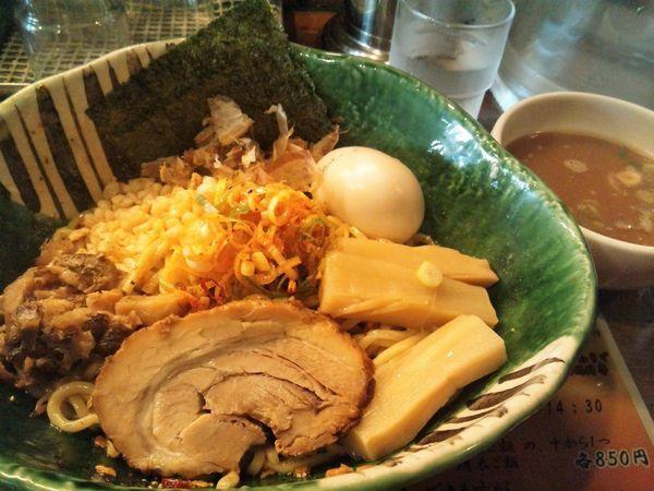 「麻辣油そば(800円)+燻製玉子(100円)」@麺や 璃宮の写真