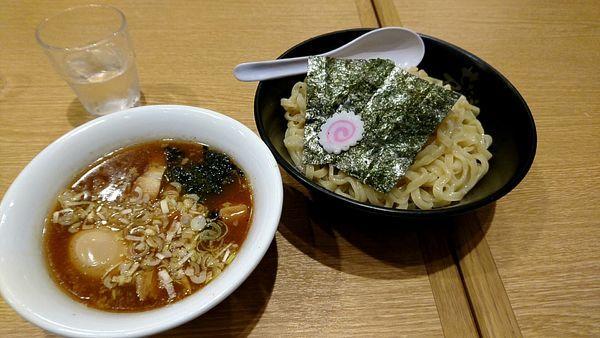 「せがた屋つけ麺+大盛」@せたが屋 越谷レイクタウン店の写真