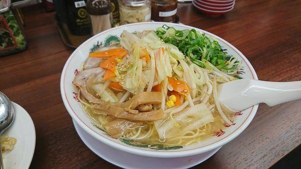 「しお野菜ラーメン」@ラーメン魁力屋 吉祥院店の写真