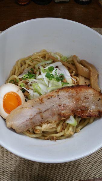 「汁なし醤油」@麺丼Dining 夢者の写真