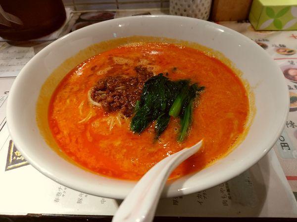 「坦々麺(並盛・130g)710円」@陳麻家 高崎駅西口店の写真