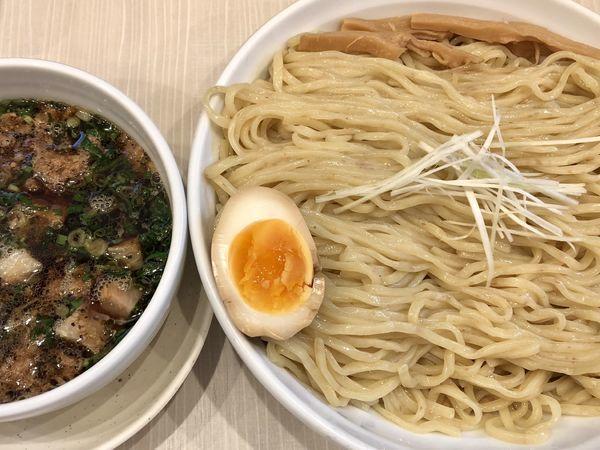 「つけ麺(大)」@人生夢路 徳麺の写真