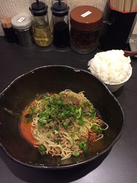 「汁なし担担麺」@汁なし担担麺専門 キング軒の写真
