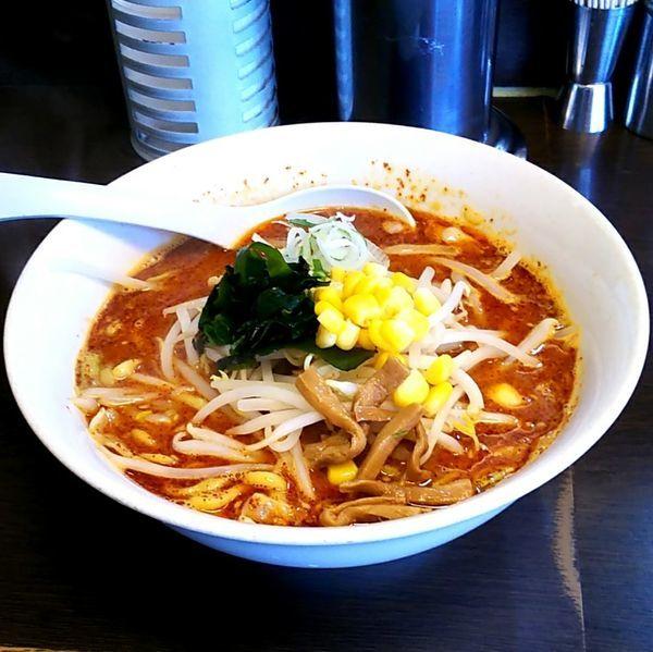「火吹みそらーめん(太麺)」@味噌一 一之江店の写真