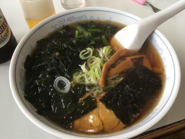 「わかめらーめん(醤油)」@らーめんタロー 小湊店の写真