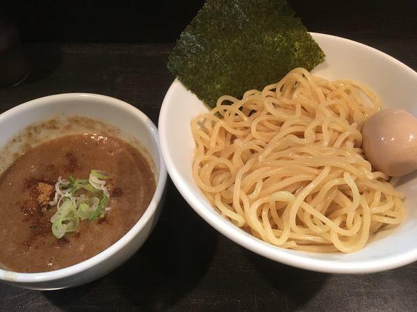 「濃厚ニボつけ麺(大盛)」@煮干しそば 虎愼 八幡山店の写真