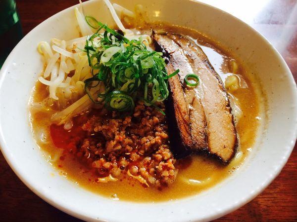 「味噌豚骨」@麺屋えびすの写真