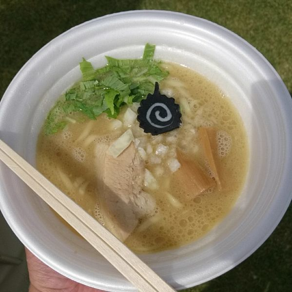 「ドラゴン&稲葉 鶏白湯ラーメン」@つくばラーメンフェスタ2017の写真