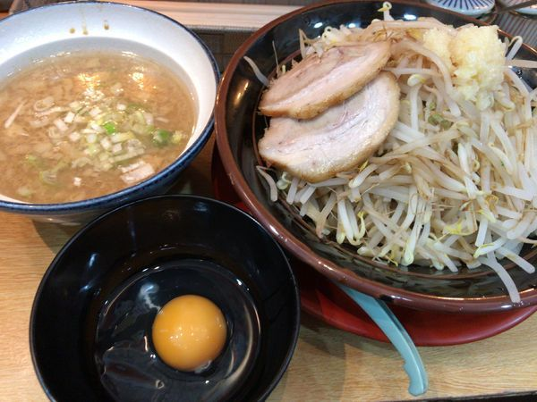 「つけG麺・ニンニクアブラ850円」@伊勢佐木家 武蔵浦和店の写真