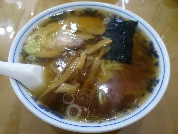 「ラーメン 700円」@青竹手打ラーメン ほそやの写真