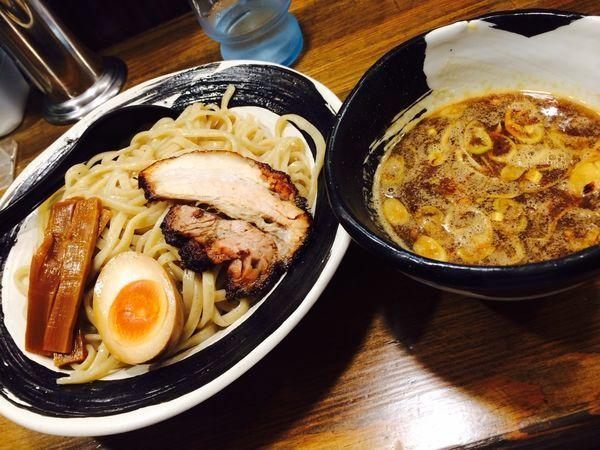 「濃厚つけ麺」@あごばんらーめんの写真