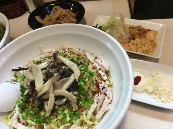 「【限定】塩まぜそば850円」@桜台らぁ麺 美志満の写真