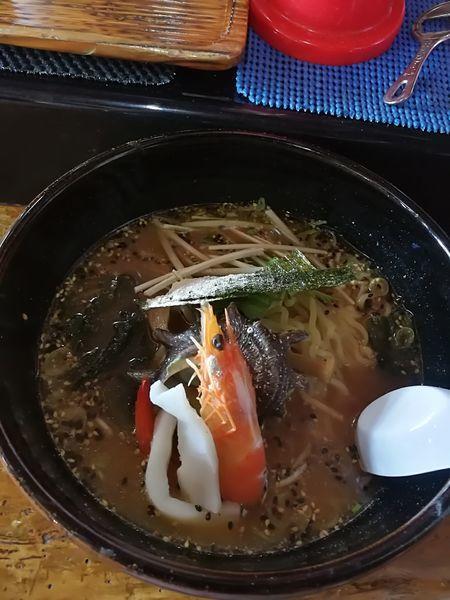 「磯ラーメン 840円」@かあちゃんの写真