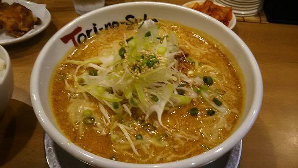 「白胡麻担々麺」@とりの助 坂戸にっさい店の写真