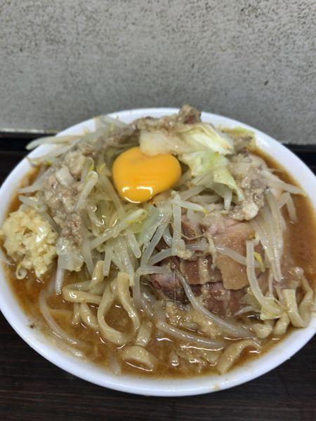 「86辛味噌ラーメン¥950豚2枚¥200生卵¥50」@らーめん虎丸の写真