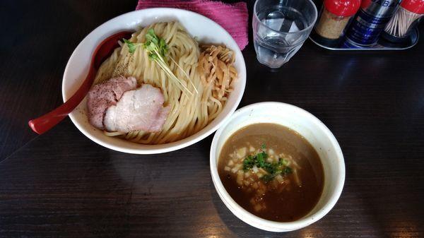 「つけ麺大盛り(950円)」@麺処 夏海の写真