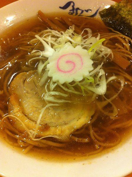 「淡成ラーメン」@麺や紡の写真
