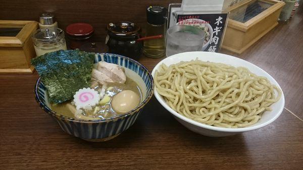 「特製つけ麺煮番搾り・大盛 ¥1250」@つけめん 三三㐂の写真