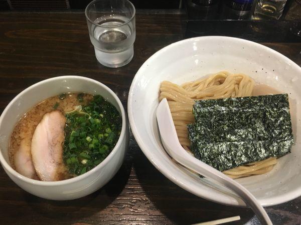 「つけ麺醤油800円 味玉100円」@札幌 Fuji屋の写真