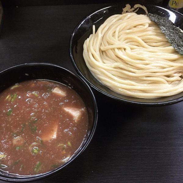 「濃厚豚骨つけ麺(中)830円」@無鉄砲 つけ麺 無極の写真