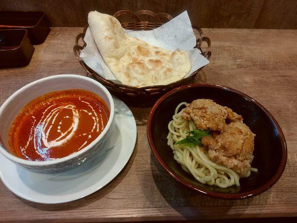 「バタキチつけ麺(並盛)880円」@バタチキ 高崎オーパ店の写真