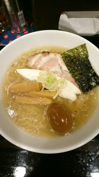 「塩らーめん  670円」@麺屋 千とせの写真