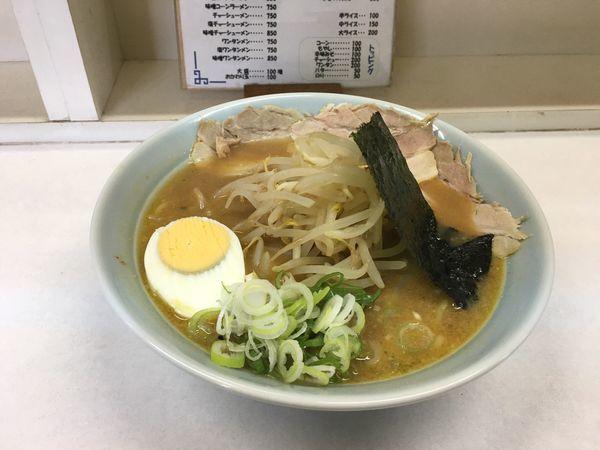 「味噌ラーメン  650円」@コラーゲンの写真