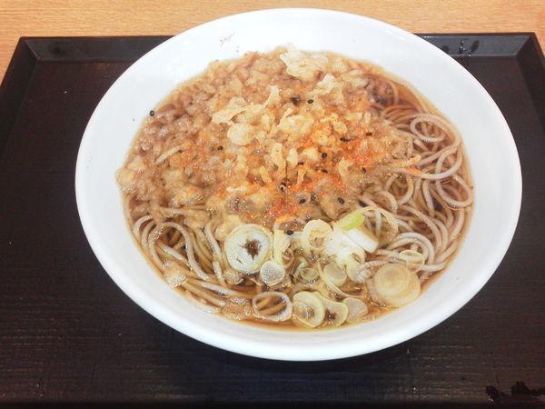「たぬきそば 350円」@いわもとQ 歌舞伎町店の写真