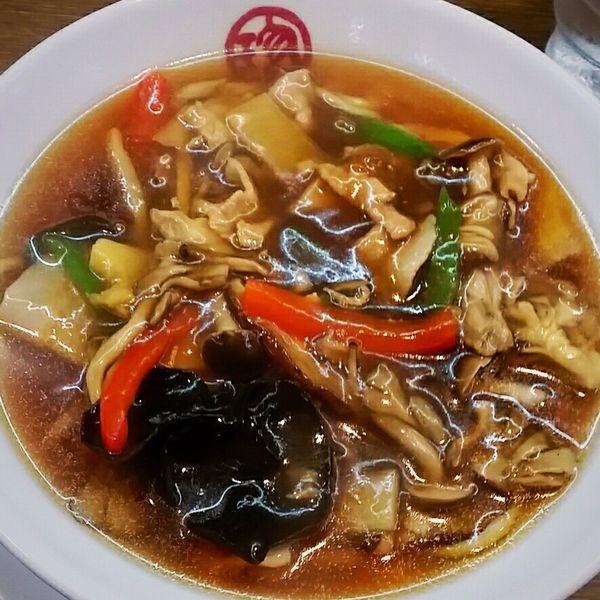 「【期間限定】きのこうまに麺 800円」@珍來 石岡店の写真
