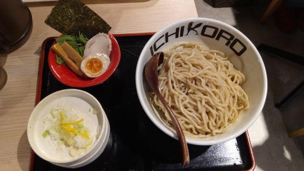 「純濃つけそば」@鶏蕎麦十番156 -ICHIKORO- イーアスつくば店の写真