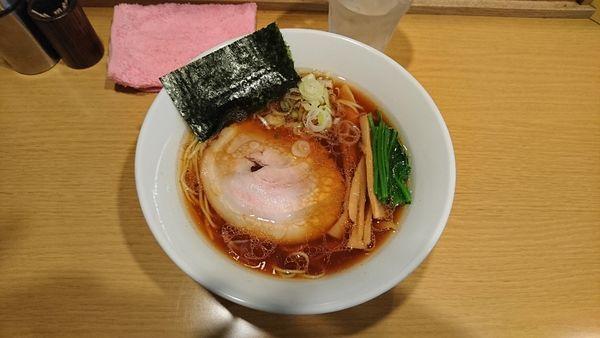 「醤油ラーメン700」@らーめん こうすけの写真