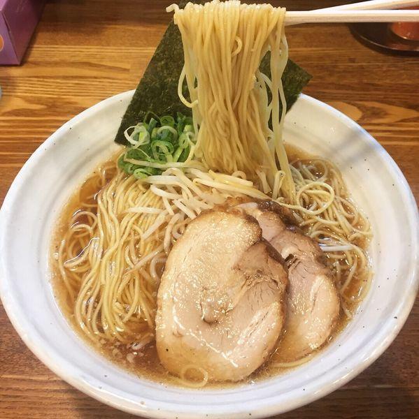 「豚そば700円」@上海麺館の写真