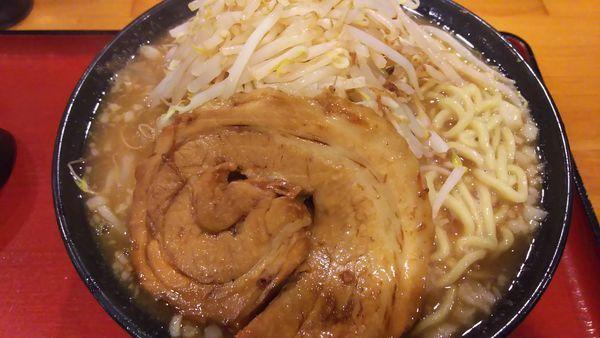 「野菜ラーメン 大盛り」@中華そばつけ麺 魚介の達人 久兵衛 取手店の写真