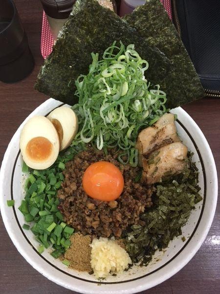 「台湾まぜそば 全部のせ(DX)」@濃厚担々麺はなび 小牧店の写真