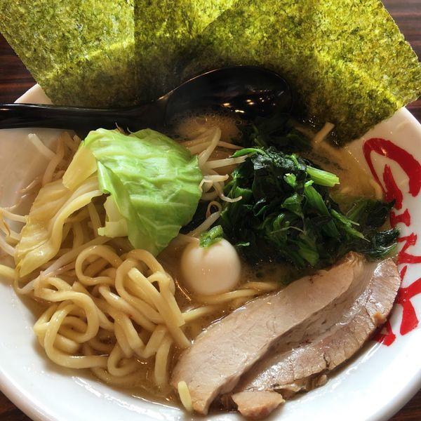 「味噌750円」@横浜家系ラーメン 吟家 白井店の写真