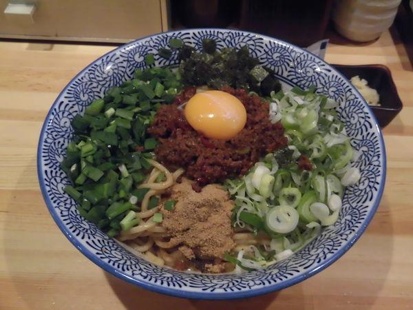 「台湾まぜそば大830円」@自家製麺 竜葵の写真