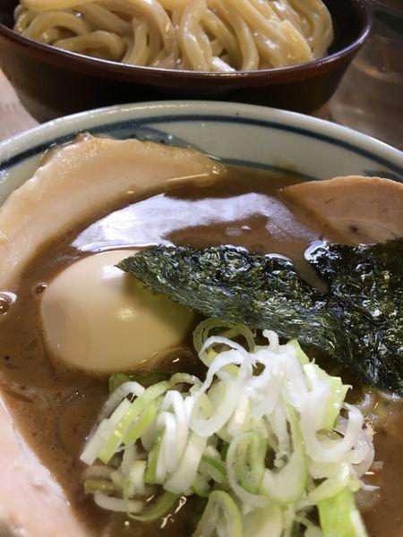「特製つけ麺 中」@中華そば つけ麺 村岡屋の写真