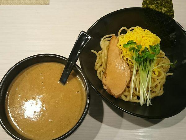 「カレーつけ麺¥800+小ライス(ランチサービス)」@CURRY&BAR 2531の写真