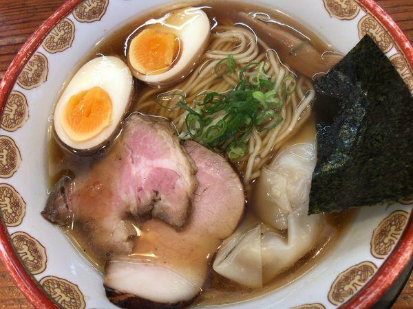 「神楽そば(醤油味)」@自然派ラーメン 神楽の写真