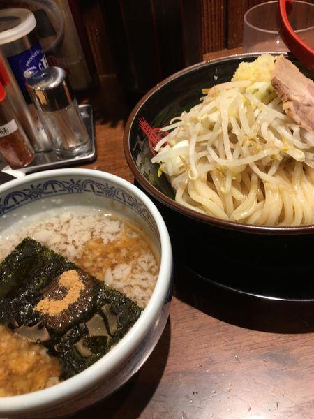 「期間限定 背脂番長つけ麺」@つけ麺専門店 三田製麺所 ヨドバシAkiba店の写真