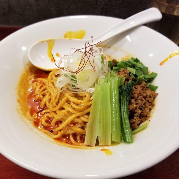 「汁なし担々麺」@noodles house 錦鯉の写真