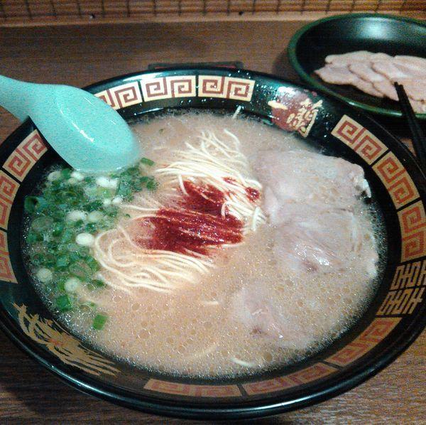「豚骨ラーメン790円」@一蘭 小倉店の写真