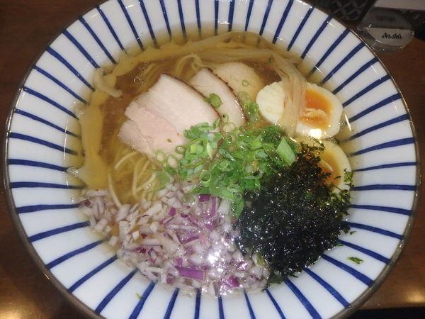「味玉塩中華そば(750円)」@麺喰屋 澤 徳島店の写真