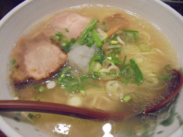 「【限定】高イノシン酸鰹と牛骨スープのラーメン 800円」@G麺7の写真