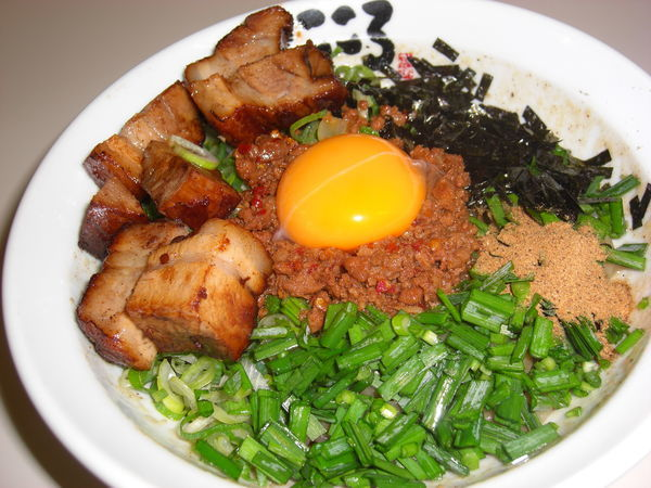 「台湾まぜそば 肉入り¥990」@麺屋こころ 大船店の写真