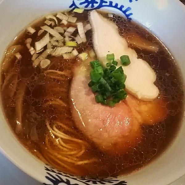 「醤油そば 750円」@特級鶏蕎麦 龍介の写真