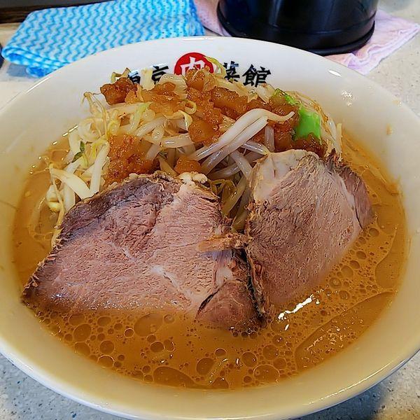 「らーめん(ヤサイ少なめ)」@東京肉菜館の写真