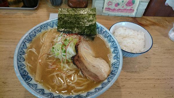 「あごだしそば」@麺屋 蕪村 篠ノ井店の写真